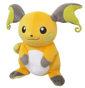 Sanei Pokemon All Star Collection PP79 Raichu Plush, 7""