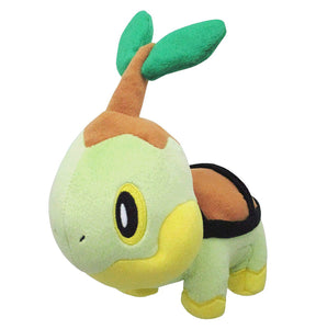 Sanei Pokemon All Star Collection PP87 Turtwig Plush, 6""