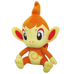Sanei Pokemon All Star Collection PP88 Chimchar Plush, 8""