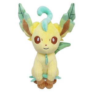 Sanei Pokemon All Star Collection PP123 Leafeon Plush, 7""