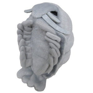 Sanei Squeaky Animal Grey Isopod Stuffed Plush, 5""