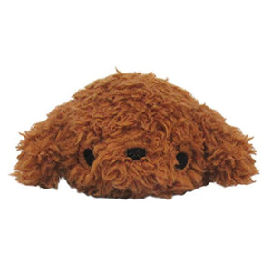 Sanei Noru n Inu Mini Stackable Toy Poodle Dog Plush, 3.5""