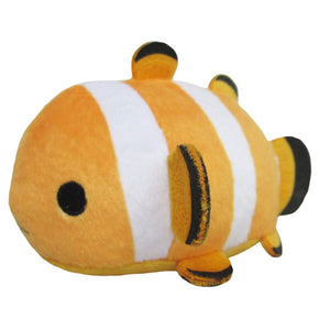 Sanei Noru n Zoku Mini Stackable Nemo Fish Clownfish Plush, 3""