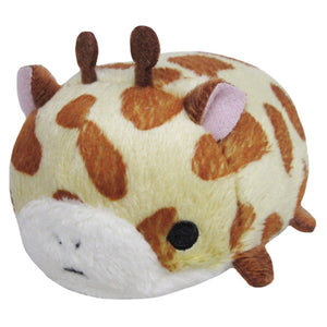 Sanei Noru n Zoku Mini Stackable Giraffe Plush, 3""