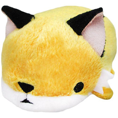 Sanei Noru n Zoku Mini Stackable Fox Stuffed Plush, 3
