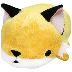 Sanei Noru n Zoku Mini Stackable Fox Stuffed Plush, 3""