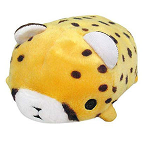 Sanei Noru n Zoku Mini Stackable Cheetah Plush, 3""