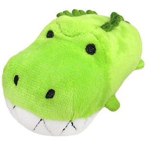 Sanei Noru n Zoku Mini Stackable Crocodile Plush, 3""