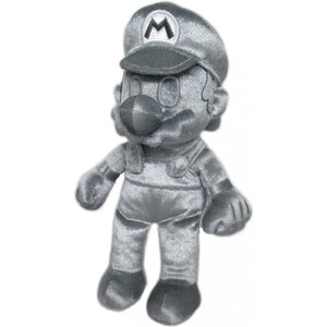 Sanei Super Mario All Star Collection AC58 Metal Mario Plush, 9""