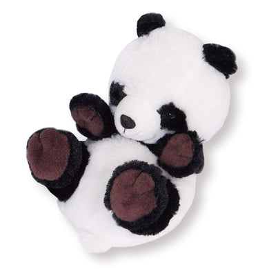 Sanei Squeaky Animal Cute Panda Stuffed Plush, 6
