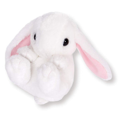 Sanei Squeaky Animal Lop Ear Rabbit Stuffed Plush, 5