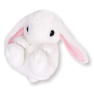 Sanei Squeaky Animal Lop Ear Rabbit Stuffed Plush, 5""