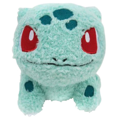 Sekiguchi Pokemon MokoMoko Series Bulbasaur Plush, 7