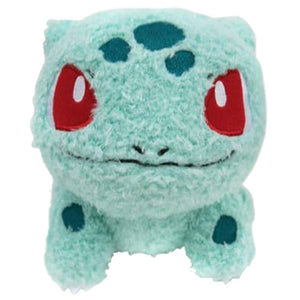 Sekiguchi Pokemon MokoMoko Series Bulbasaur Plush, 7""