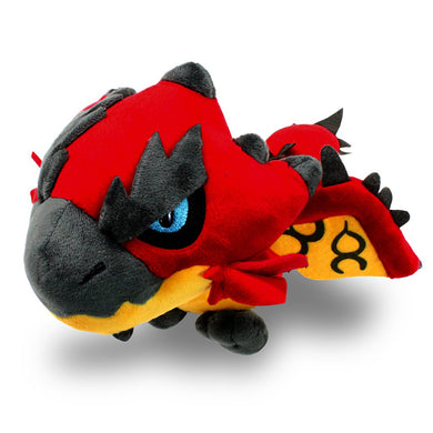 Capcom Monster Hunter Rathalos / Rioleus (Red) Plush, 5.5
