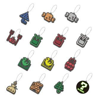 Capcom Monster Hunter World Item Icon Rubber Mascot Charms (Random Box Set of 14)