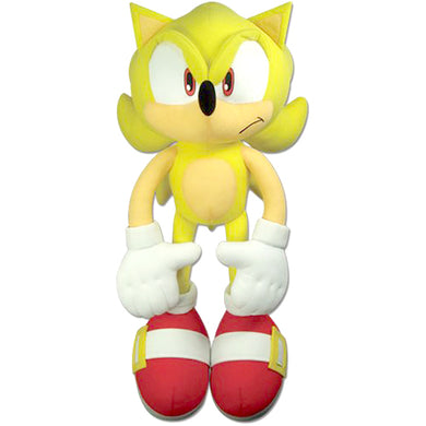 Great Eastern GE-52626 Sonic The Hedgehog: Large Super Sonic Plush, 20