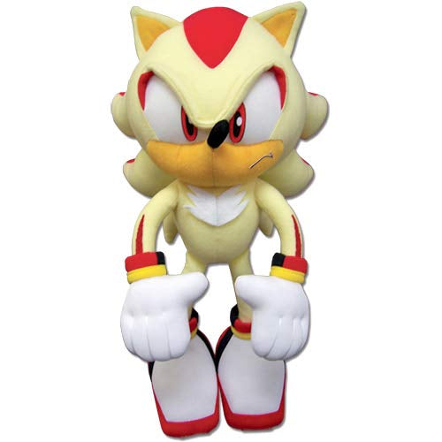Great Eastern GE-52631 Sonic The Hedgehog: Super Shadow Plush, 12