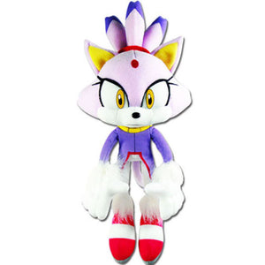 Great Eastern GE-52636 Sonic The Hedgehog: Blaze The Cat Plush, 14""