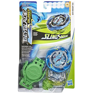 Hasbro Beyblade Burst Turbo SlingShock Air Knight K4 Starter Pack