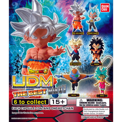 Dragon Ball Super UDM Figure Series The Best 7 Gashapon (Bag of 50 Capsules)
