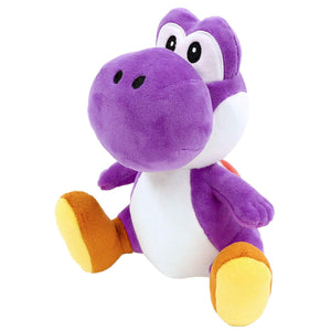 Little Buddy Super Mario All Star Collection Purple Yoshi Plush, 7""