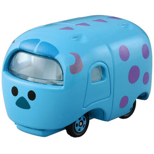 Takaratomy Tomica Disney Motors Tsum Tsum Monsters Inc. Mini Car Figure - Sulley Sullivan