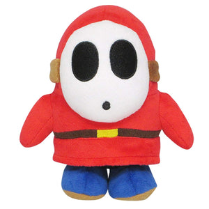 Sanei Super Mario All Star Collection AC25 Shy Guy Plush, 6.5""