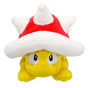 Sanei Super Mario All Star Collection AC29 Spiny Plush, 4.5""