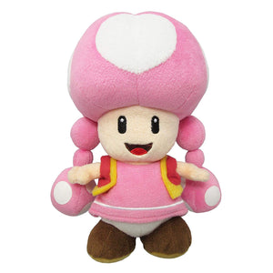 Sanei Super Mario All Star Collection AC33 Toadette Plush, 7.5""