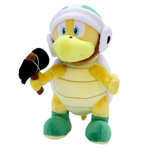 Sanei Super Mario All Star Collection AC37 Hammer Bros Plush, 8.5