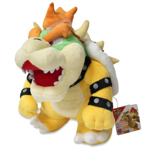 Sanei Super Mario All Star Collection AC10 Bowser Plush, 10""