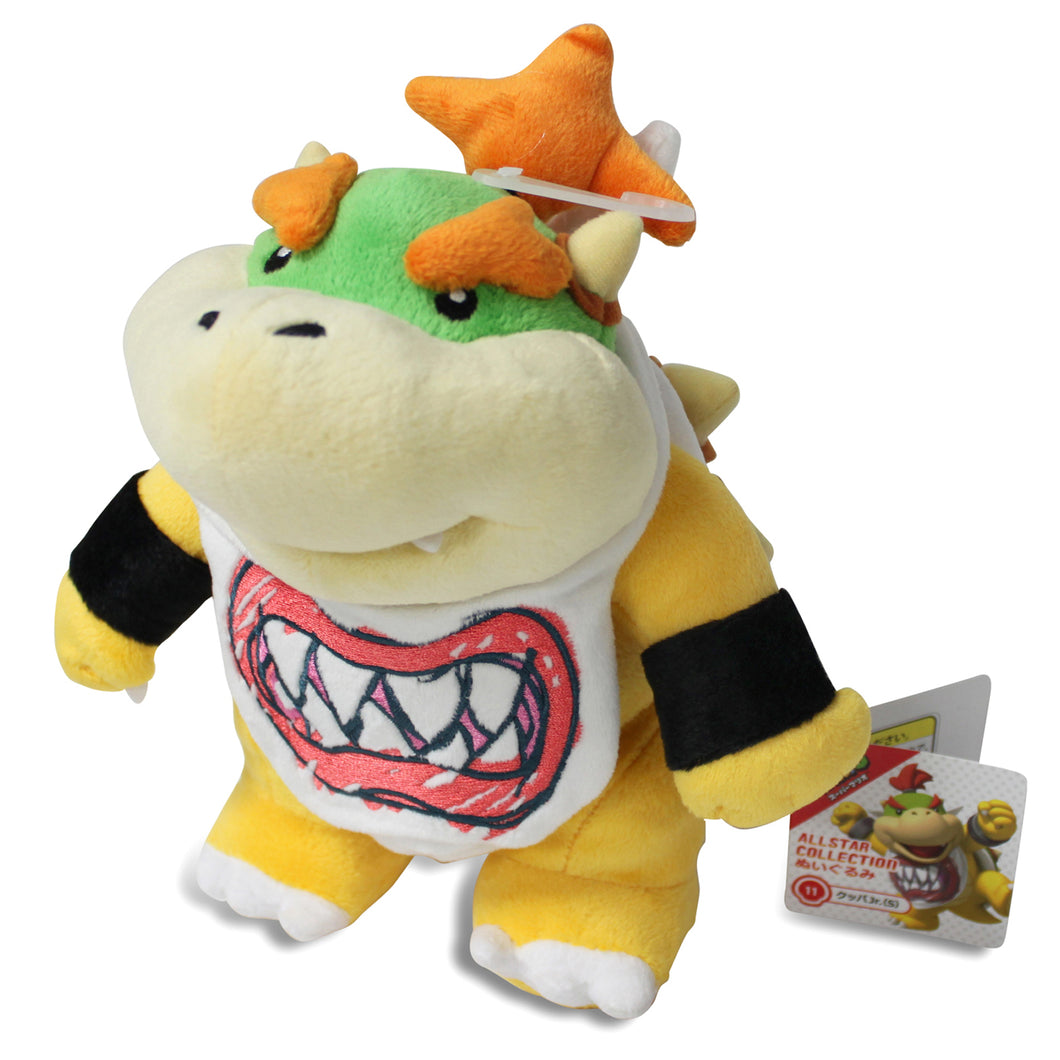 Sanei Super Mario All Star Collection AC11 Bowser Jr. Plush, 8