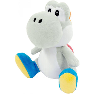 Little Buddy Super Mario All Star Yoshi - White Yoshi Plush, 7""