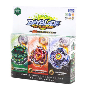 Takaratomy B-121 Beyblade Burst Super CHO-Z Triple Booster Set