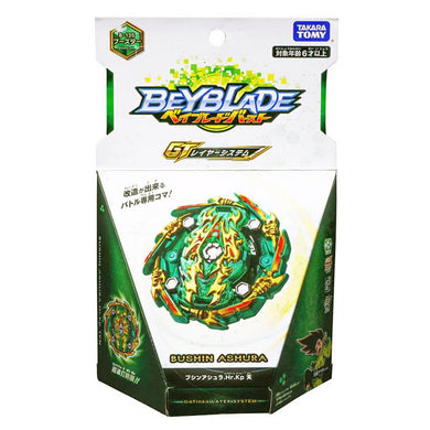 Takaratomy B-135 Beyblade Burst Bushin Ashura Hurricane Keep Ten Booster Top