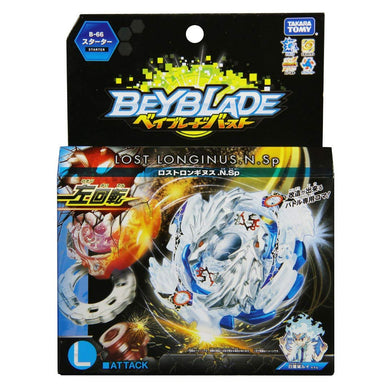 Takaratomy B-66 Beyblade Burst Lost Longinus.N.Sp Attack Starter w/ Launcher