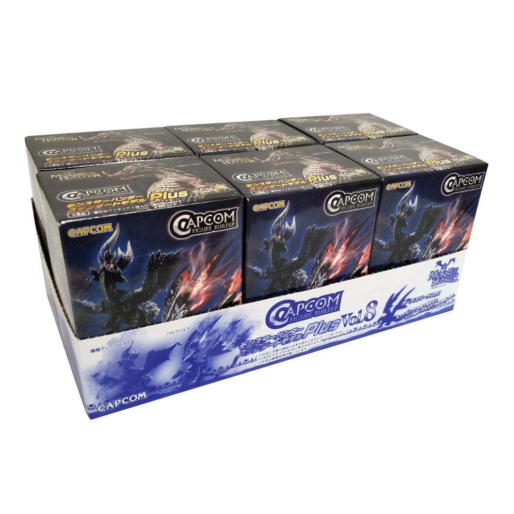 Capcom Monster Hunter Plus Vol. 8 Blind Box Figures (Random Box Set of 6)