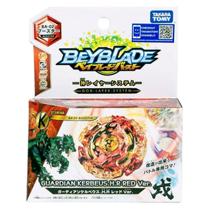 Takaratomy BA-02 Beyblade Burst Guardian Kerbeus.H.R Red Ver. Booster
