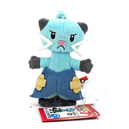 Banpresto My Pokemon Collection Assorted Mini Plush Ball Chain - 47479 - Dewott / Futachimaru