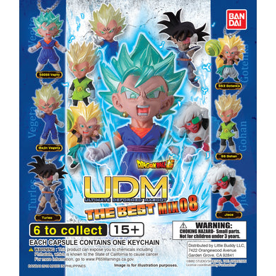 Dragon Ball Super UDM Figure Series The Best 8 Gashapon (Bag of 50 Capsules)