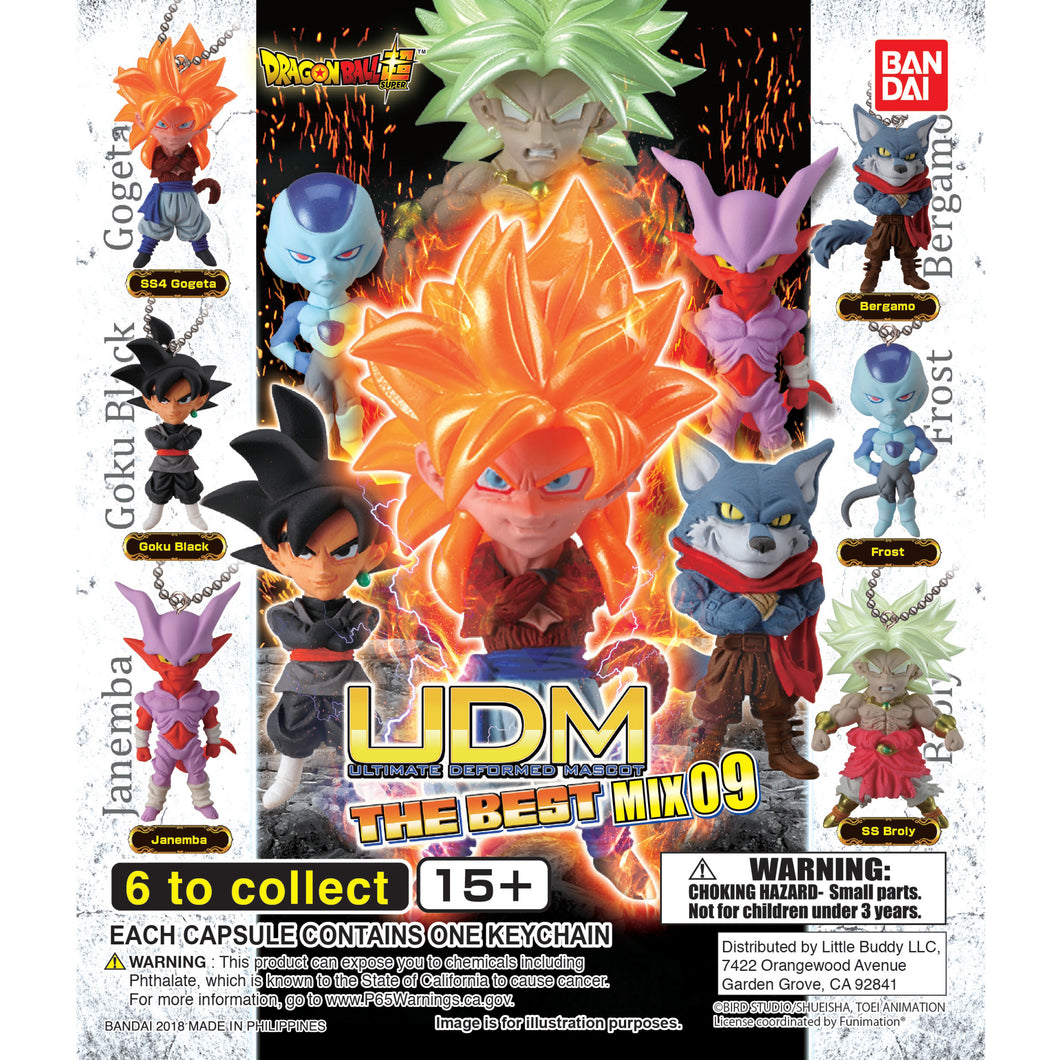 Dragon Ball Super UDM Figure Series The Best 9 Gashapon (Bag of 50 Capsules)