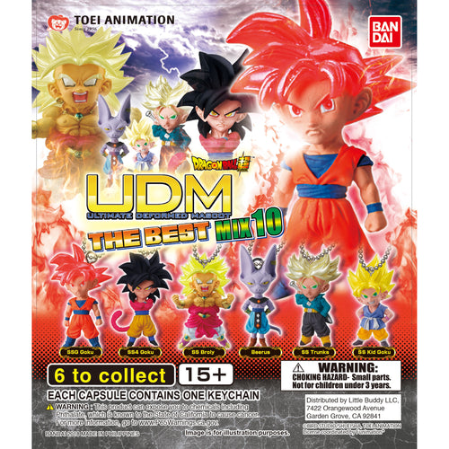 Dragon Ball Super UDM Figure Series The Best 10 Gashapon (Bag of 50 Capsules)