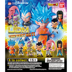 Dragon Ball Super UDM Figure Series The Best 11 Gashapon (Bag of 50 Capsules)