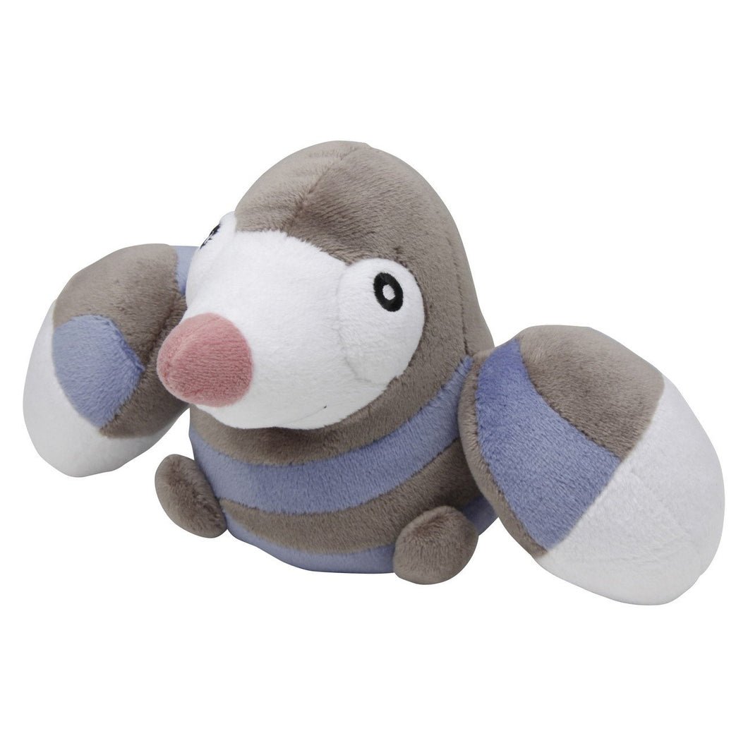 Pokemon Center Black and White Pokedoll Drilbur / Mogurew Plush