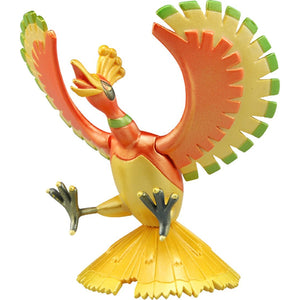 Takaratomy Pokemon EX EHP-09 Ho-Oh Metallic Version Figure, 3.5""