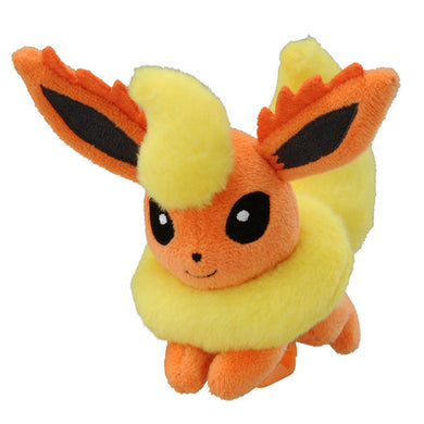 Takaratomy Pokemon Katanori Shoulder Clip-on Flareon Plush, 4