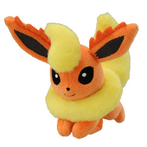 Takaratomy Pokemon Katanori Shoulder Clip-on Flareon Plush, 4""