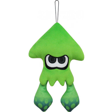 Little Buddy Splatoon 2 Neon Green Inkling Squid Plush, 9
