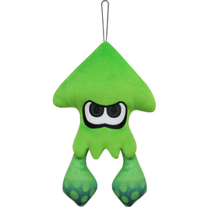 Little Buddy Splatoon 2 Neon Green Inkling Squid Plush, 9""